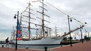 Parade of sail sets off from Norfolk en route to Baltimore