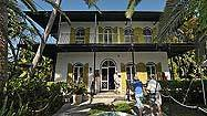 Hemingway's Key West house named literary landmark