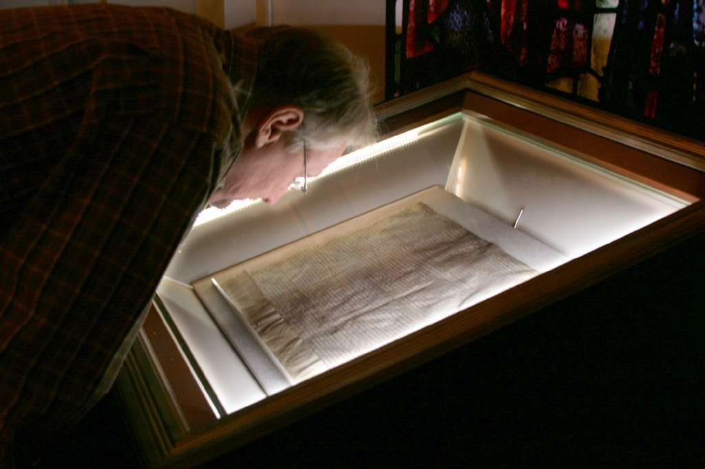 The Magna Carta -- one of four known originals from 1215, is coming back to the U.S. on the eve of its 800th anniversary. It's seen here on view at the Ronald Reagan Presidential Library and Museum in Simi Valley in 2009.