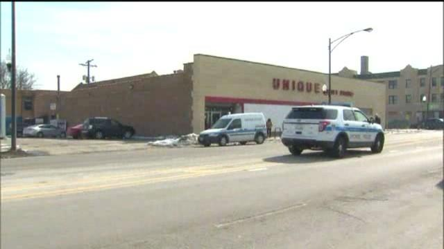RAW: Scene of woman fatally shot at thrift store