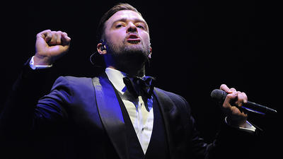 Photos: Justin Timberlake in concert in Sunrise