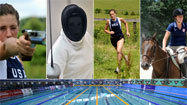 Modern pentathlon: Perfect sport for Suzanne Stettinius