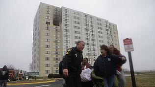 Video: Newport News High Rise Apartment Fire