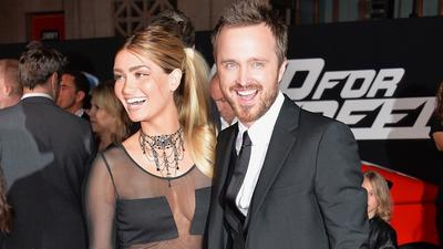 Aaron Paul's classic ride barely makes 'Need for Speed' premiere
