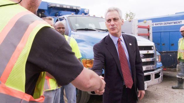 "Rahm Emanuel as featured in the CNN documentary series ""Chicagoland."""
