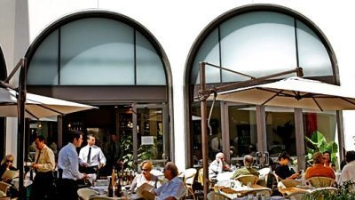 Cafe Roma Canon Drive Beverly Hills
