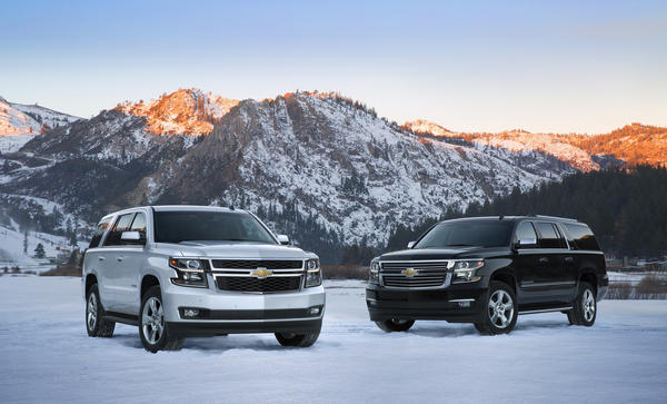 2015 Chevrolet Tahoe, left, and Suburban show that General Motors isn't ready to give up on the full-size segment. All large sport utility vehicles accounted for just 1.7% of U.S. auto sales last year.