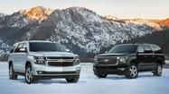 Car review: 2015 Chevy Tahoe SUV is quieter, more refined