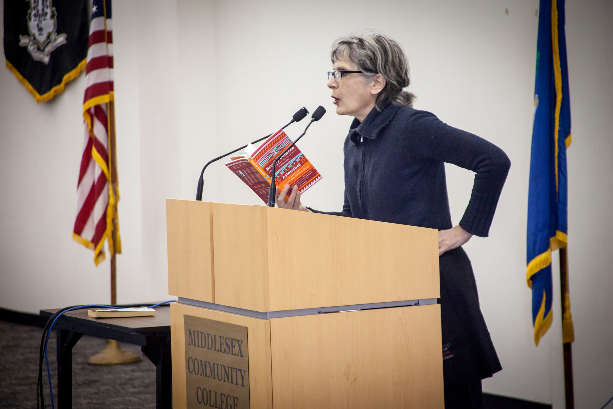 Beverly Donofrio at Middlesex Community College.