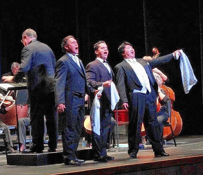 Teatro Lirico D' Europa presents new 'A Tribute to Pavarotti' at the State Theatre March 9.