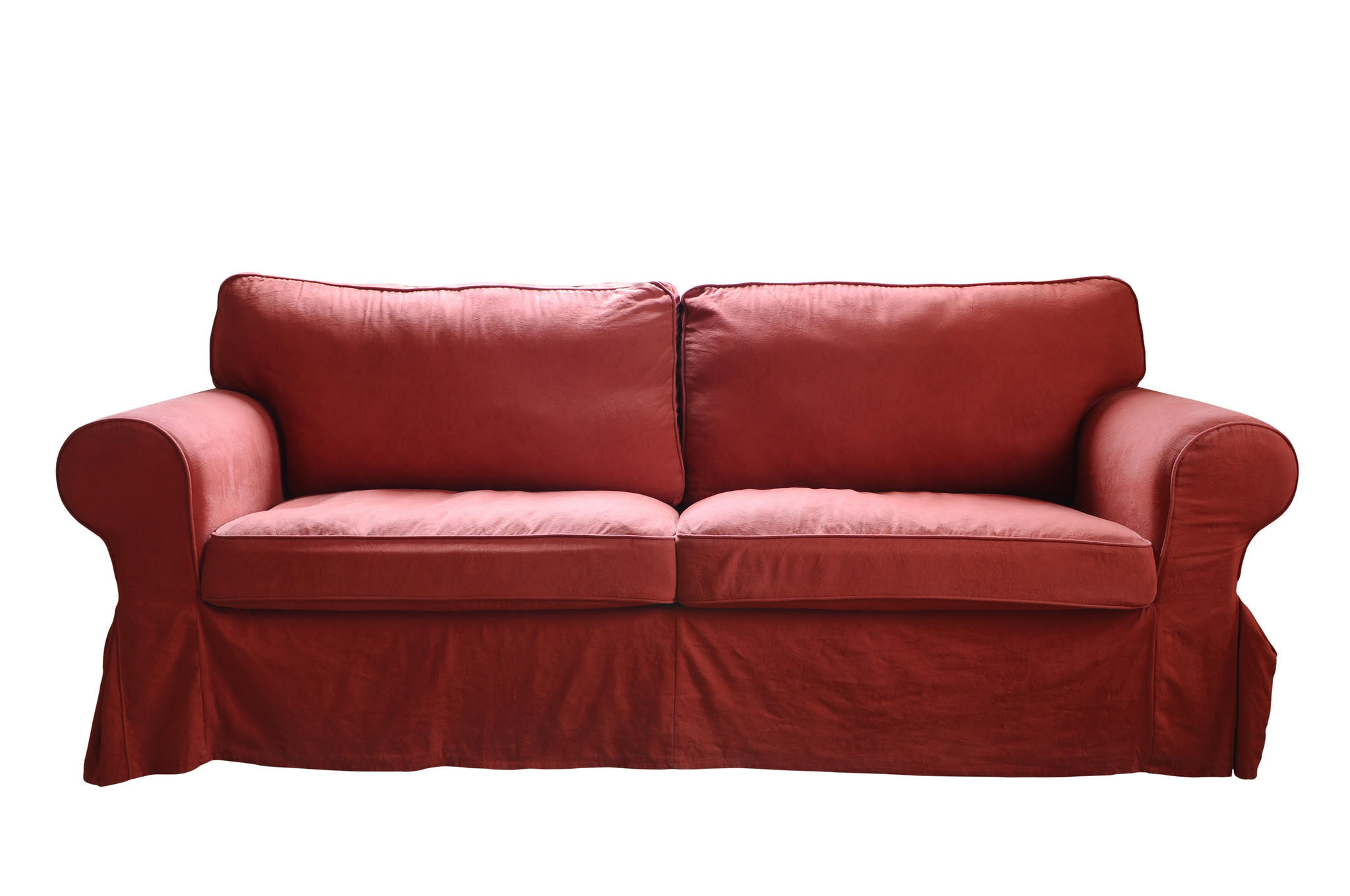 His daughter has started bringing home castoff couches in anticipation of the day she moves into her own place.