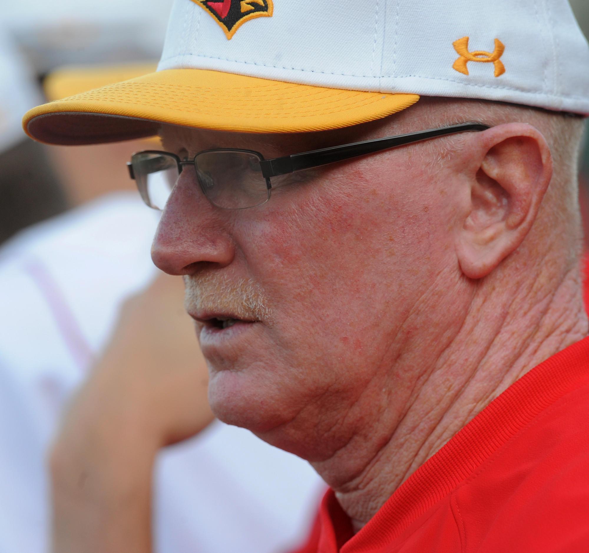 Calvert Hall coach Lou Eckerl