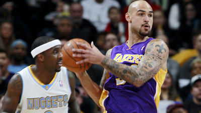 Lakers swept in season series by Nuggets with 134-126 loss