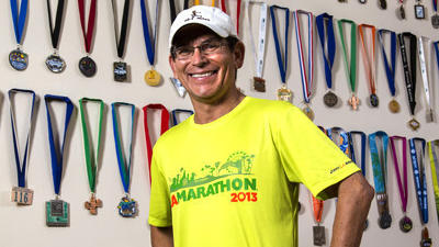 L.A. Marathon is the starting line for Alfredo Garcia Jr.