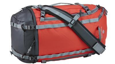 Gear: This duffel is a pack and a bag