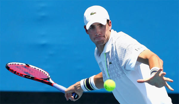 John Isner, ranked 13th in the world, is one of the few Americans ranked in the ATP Top 100.