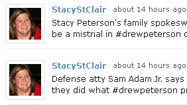 Tweets from the Drew Peterson trial
