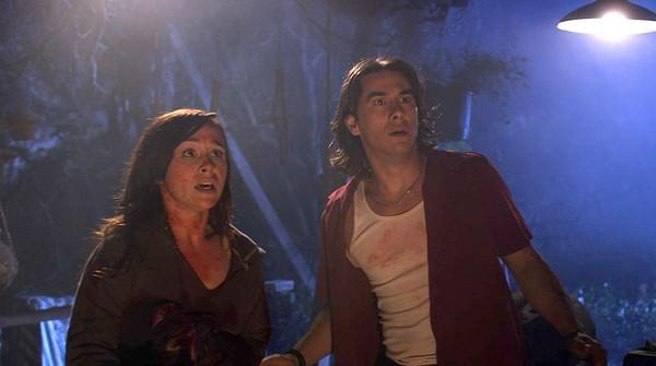 "Danielle Harris and <a class=""taxInlineTagLink"" id=""PECLB001509"" title=""James Duval"" href=""/topic/entertainment/james-duval-PECLB001509.topic"">James Duval</a> star in ""The Black Waters of Echo's Pond."""