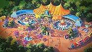 Disney Fantasyland pictures: Storybook Circus