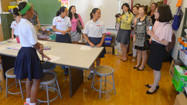 Korean education administrators visit area schools