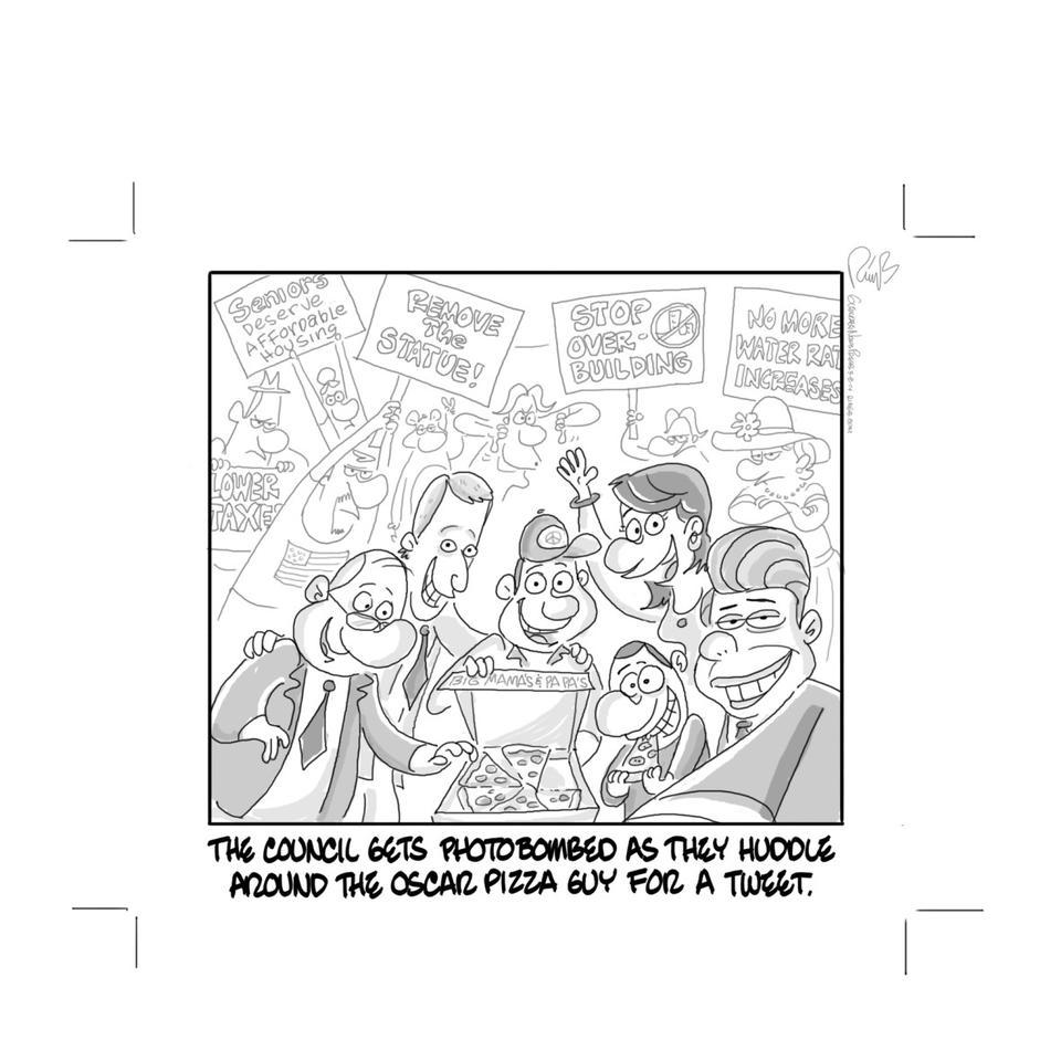 News-press Cartoon City