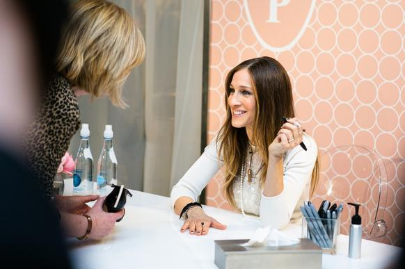 Sarah Jessica Parker signs autographs March 7 at the Michigan Ave. Nordstrom.