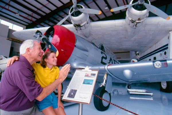 Fantasy of Flight offers an entertaining look at vintage aircraft.