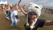 Thousands plunge for Special Olympics at rescheduled Polar Bear event