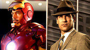 From 'Iron Man' to Don Draper: When the character's clothes make the man