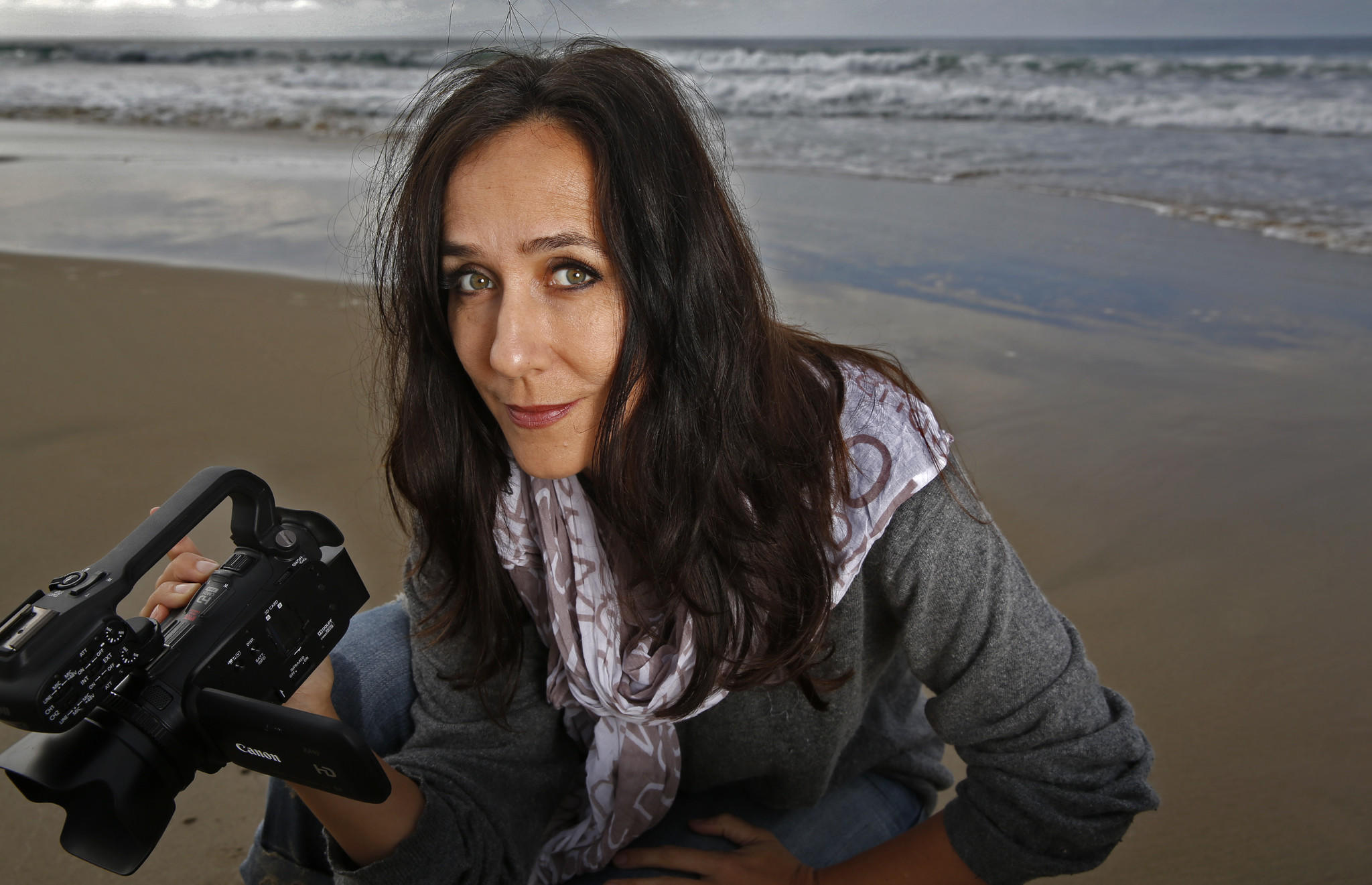 Documentary film maker Gabriela Cowperthwaite.