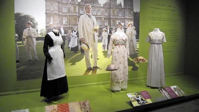 'Downton Abbey' costumes on display at Delaware's Winterthur Museum