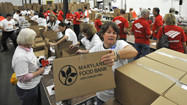 Maryland Food Bank gears up for Thanksgiving rush