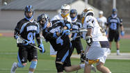No. 3 Johns Hopkins lacrosse too much for Young, UMBC to handle in 15-8 win