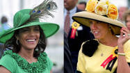 Which celebrity had the best Preakness look?