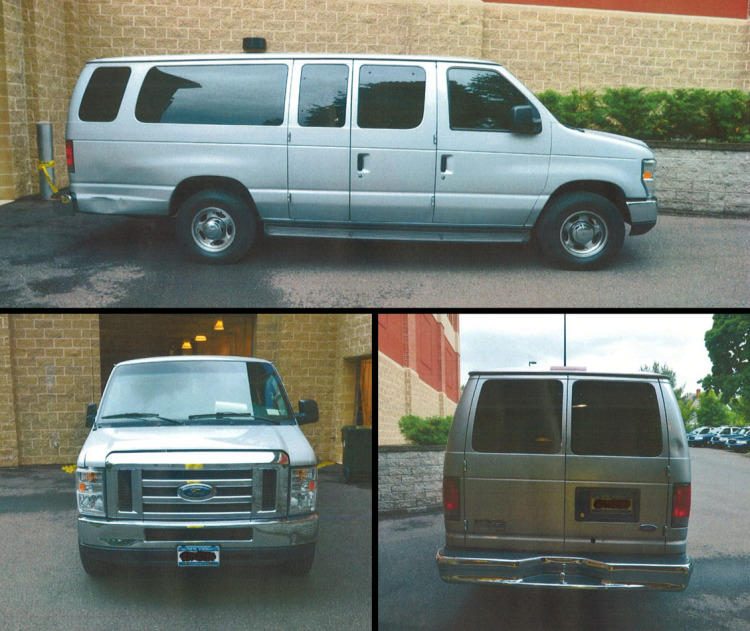 East Hartford Police released these pictures of a van may be connected to the May 6th triple homicide at Woodcliff Estates. Police believe the van was in the area before the shooting. Anyone with information is asked to contact East Hartford Police at 860-528-4401
