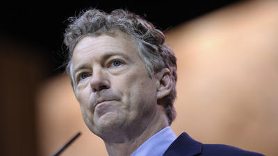 Rand Paul wins presidential straw poll at conservative gathering
