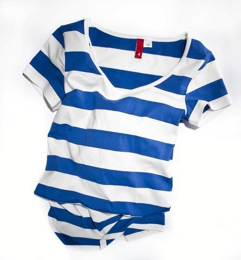 Striped tunic, $12:95, H&M