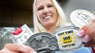 Pictures of Cheryl Lager, ultra-marathoner