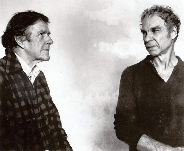 John Cage, left, profoundly influenced partner Merce Cunningham.
