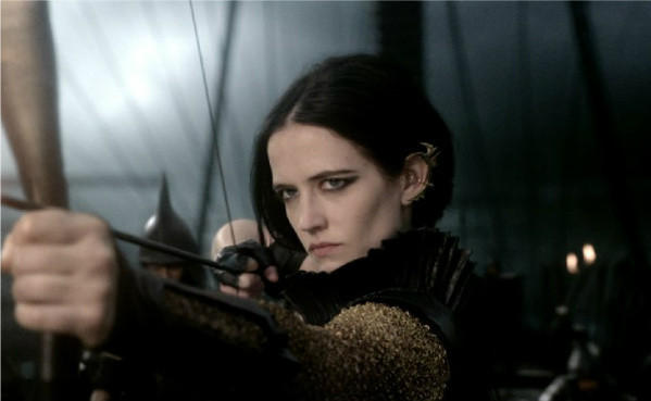 "Eva Green in a scene from ""300: Rise of an Empire."""