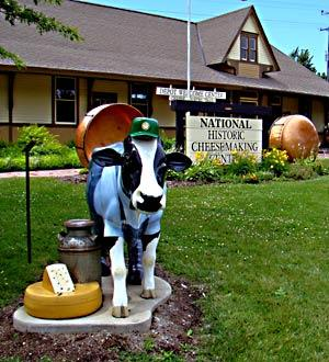 National Historic Cheesemaking Center in Monroe, Wis.