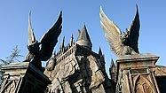 A guided tour of Hogwarts at the Wizarding World of Harry Potter