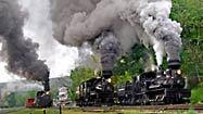 A steam-powered train trip into West Virginia's past