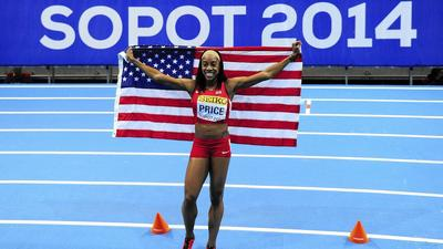 Easton's Chanelle Price wins world 800 final in Poland