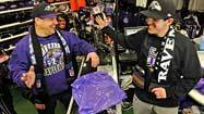 Ravens fever starts its spread in lead-up to Super Bowl