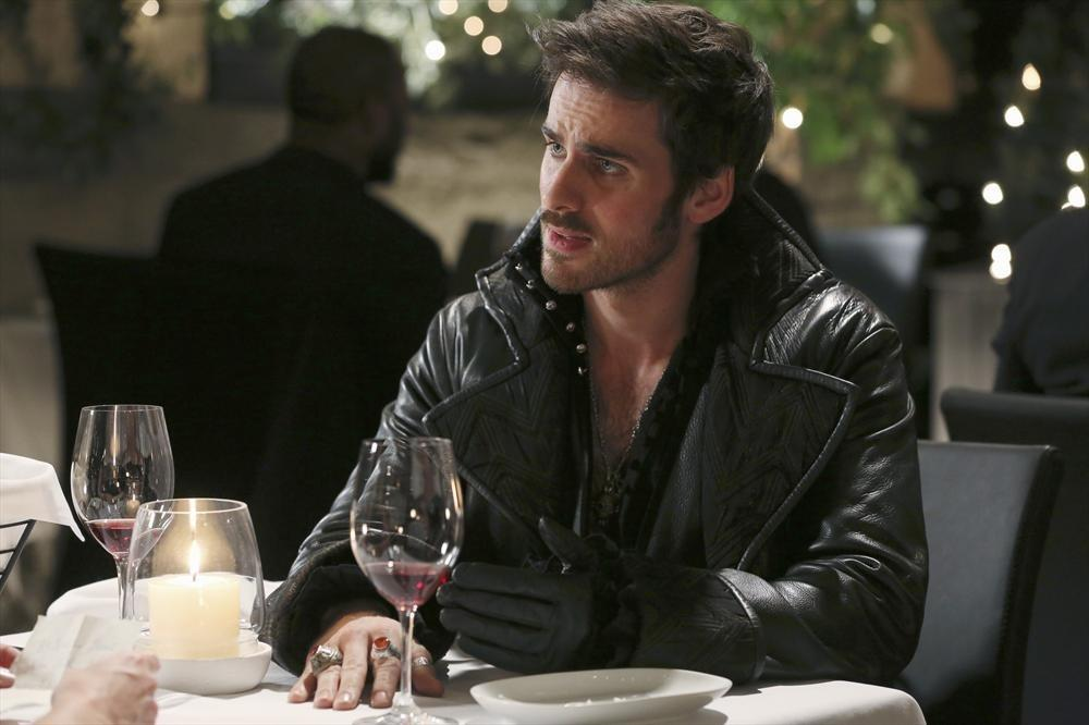 """Hook (Colin O'Donoghue) comes calling on Emma in New York City in an attempt to jog her memory so that she can once again help her fairy tale family and friends in the midseason return of """"Once Upon a Time."""""""