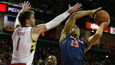 Terps upset No. 5 Virginia in OT, 75-69, in final ACC regular-season game