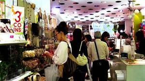 Bargain hunting at Japan's 100-yen stores