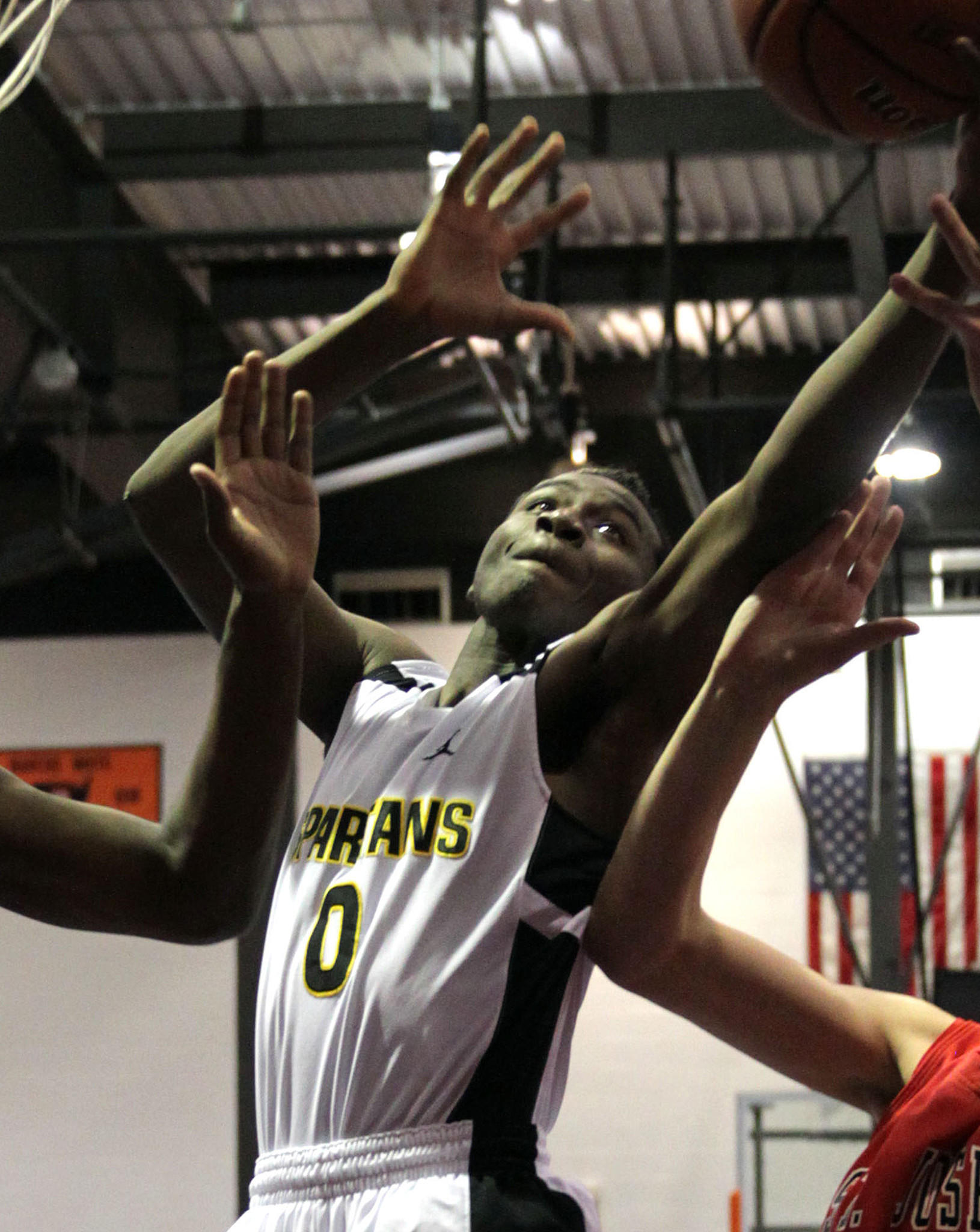 Orr's Tyquone Greer in a January game against St. Joseph.