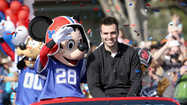 Baltimore Raves QB Joe Flacco at Walt Disney World
